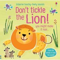 Carte cu sunete Nu Gâdila Leul - Don't tickle the Lion Usborne +6l