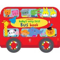 Baby's very first bus book - carte autobuz cu roți, pentru bebeluși
