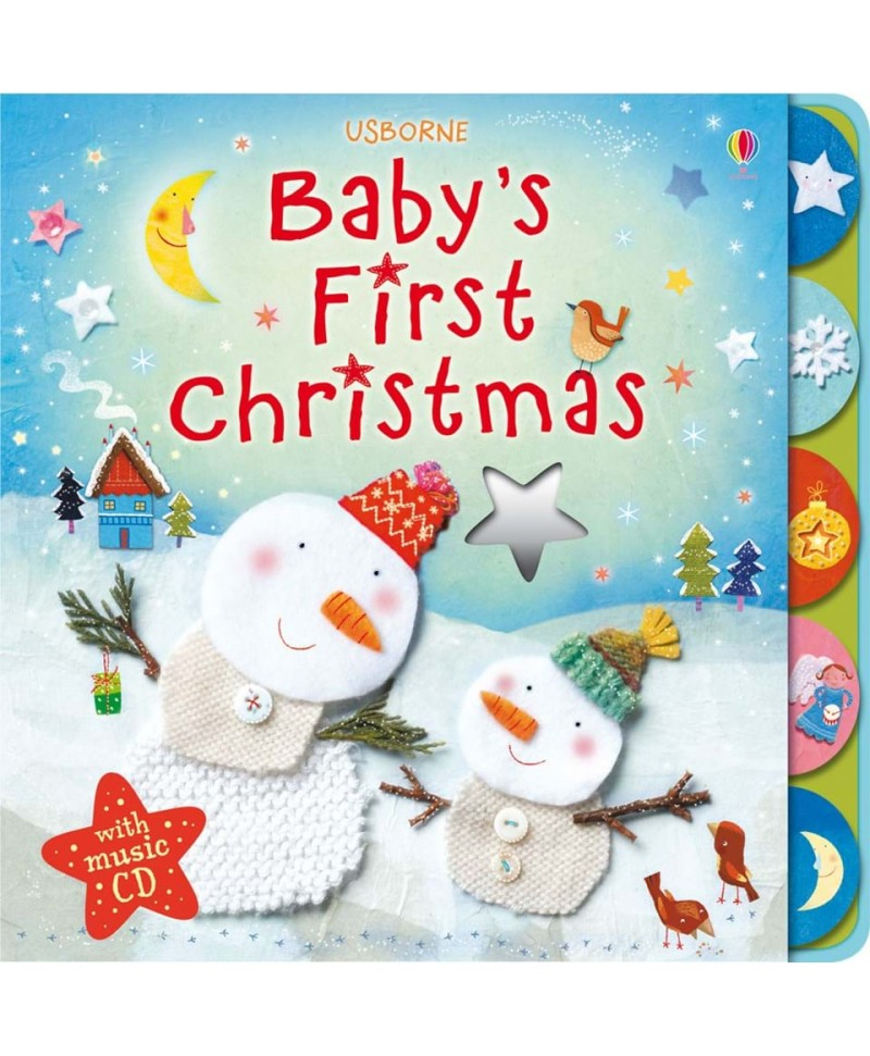 Baby's first Christmas with music CD +6l