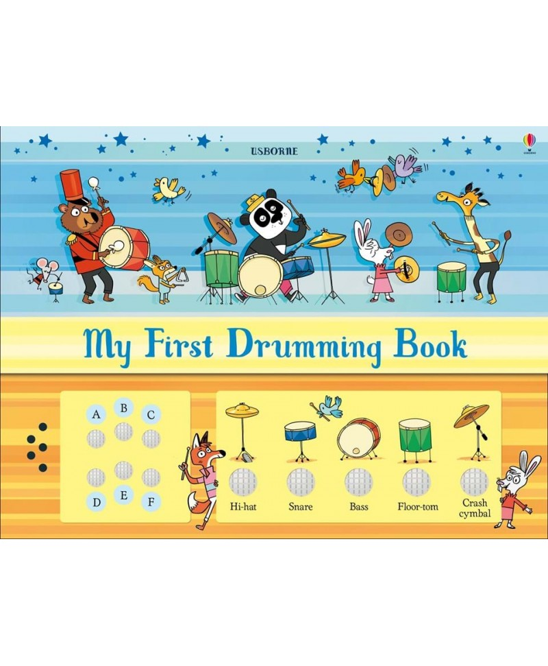 Carte de cântat la tobe My first drumming book