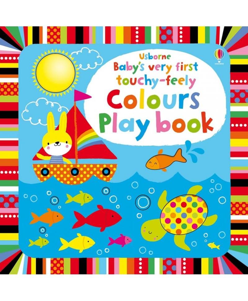 Carte senzoriala cu culori, pentru bebelusi - Baby's Very First Colours Playbook