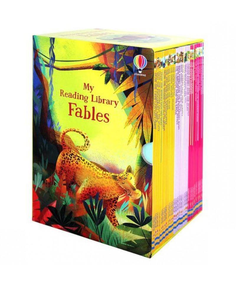 Colecție 30 cărți cu fabule My First Fables Reading Library