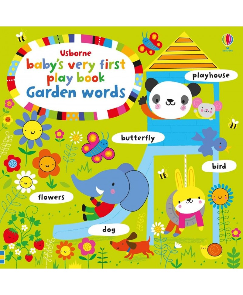 Primele cuvinte Baby's very first play book GARDEN words