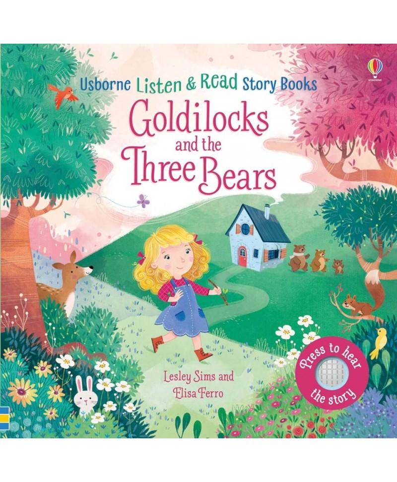 Carte audio Goldilocks and the Three Bears  - atingi paginile si se aude povestea