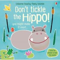 Carte cu sunete Nu Gâdila Hipopotamul - Don't tickle the Hippo Usborne +6l