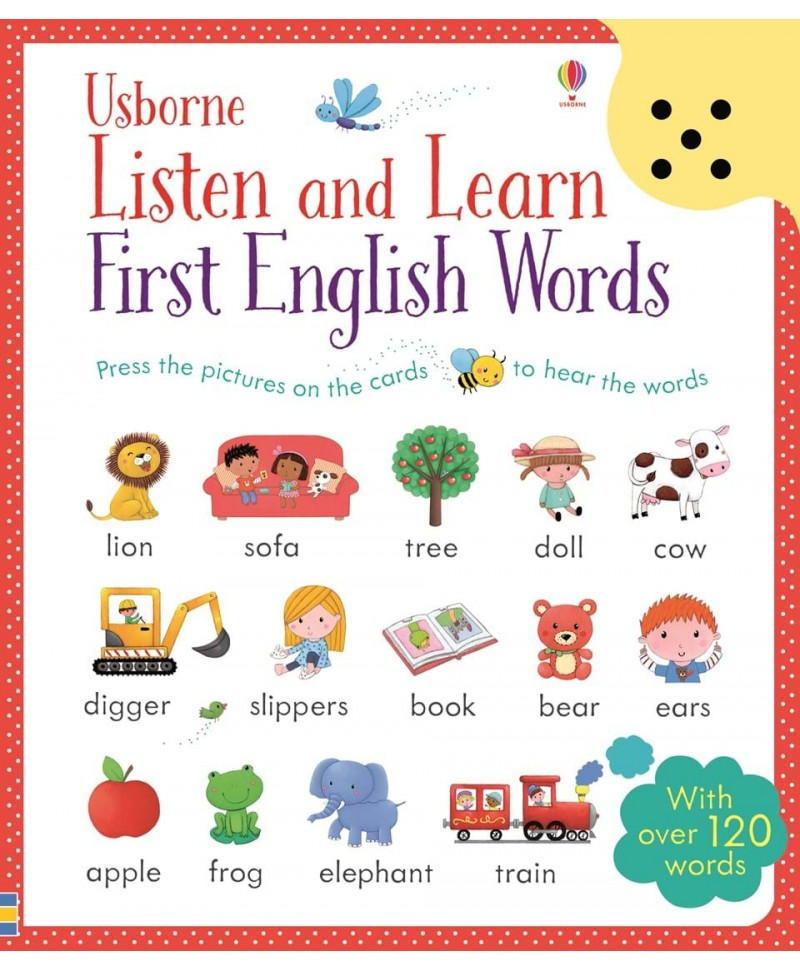 Listen and learn first English words - primele cuvinte în limba Engleza, carte audio