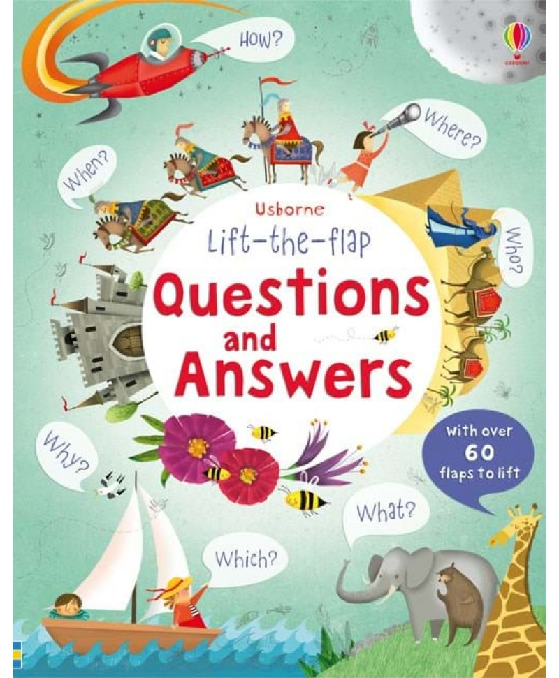 Întrebări și răspunsuri Lift-the-flap questions and answers