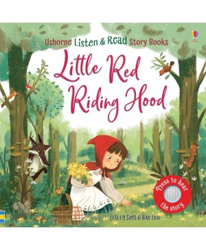 Carte audio Scufița Roșie Little Red Riding Hood  - atingi paginile si se aude povestea