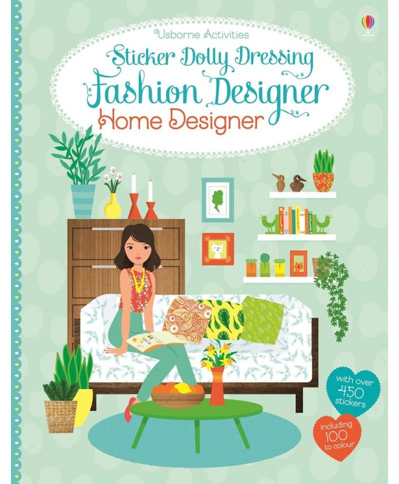 Carte cu stickere designer interior - Sticker dolly dressing Home Designer