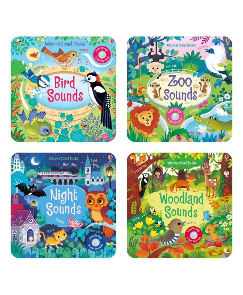 Colectie de 4 carti cu sunete Usborne