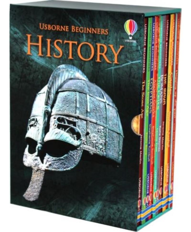 Set educativ 10 cărți despre Istorie
