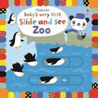 Carte Gliseaza si Vezi la Zoo - Baby's very first slide and see Zoo