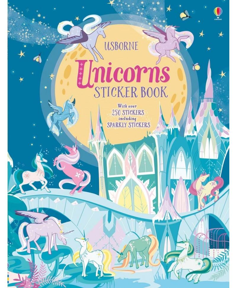 Carte cu stickere Unicorns sticker book