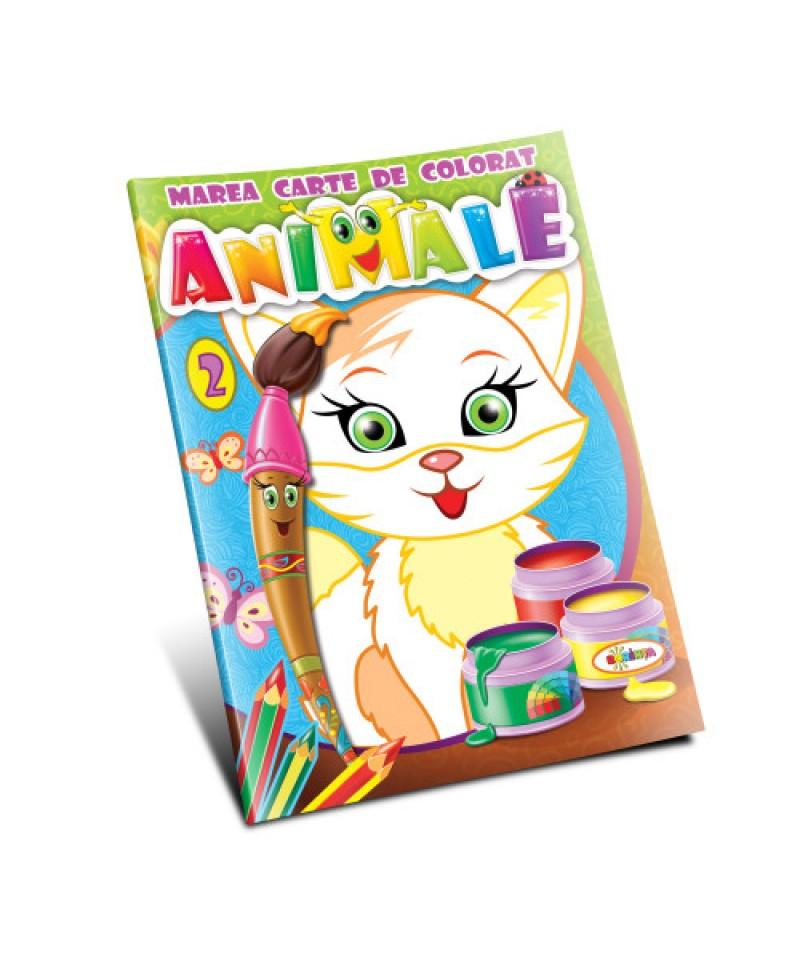 Marea carte de colorat. Animale (vol.2)