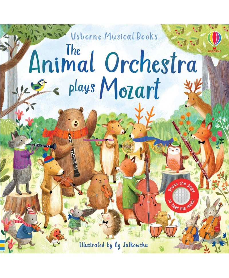 Carte muzicala The Animal Orchestra Plays Mozart