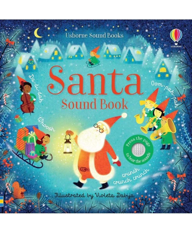 Cartea muzicală a lui Moș Crăciun Santa Sound book