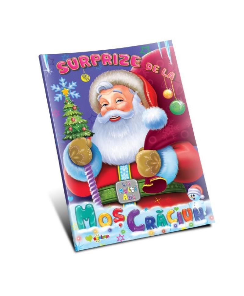 Marea carte de colorat - Surprize de la Moș Crăciun