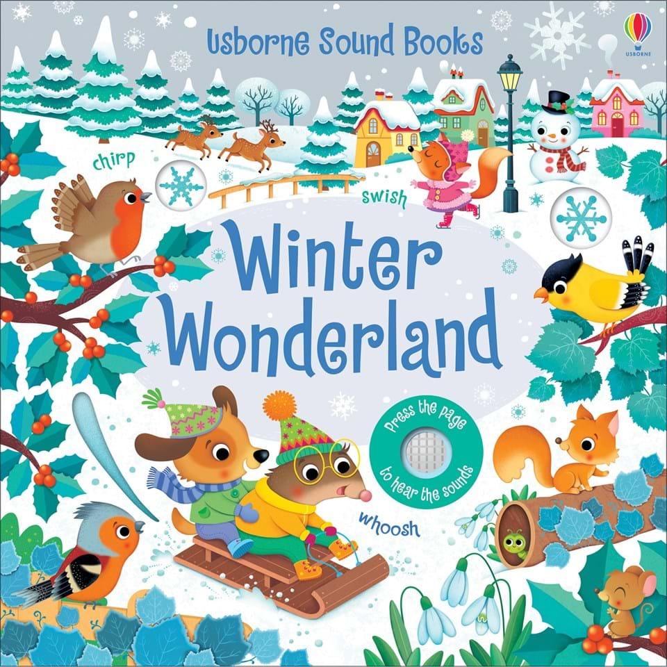 Carte cu sunete minunate de iarnă Winter wonderland Sound book