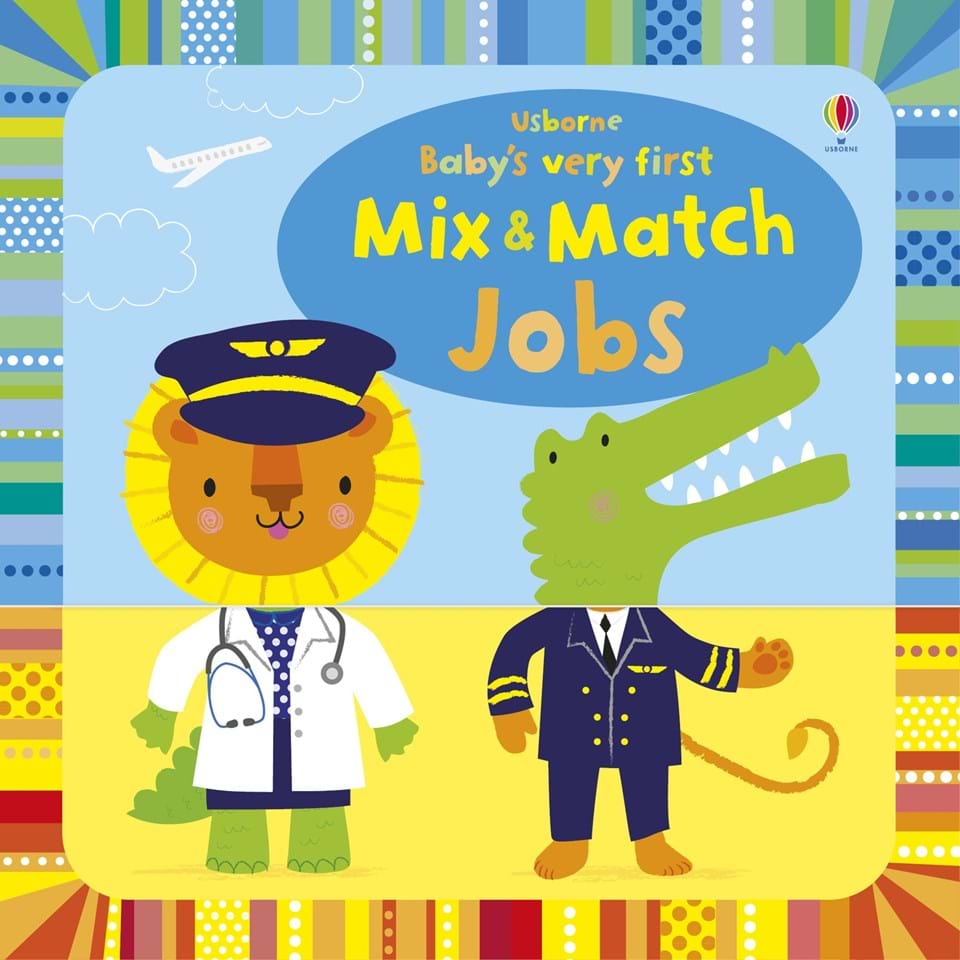 Baby's very first mix and match Jobs playbook